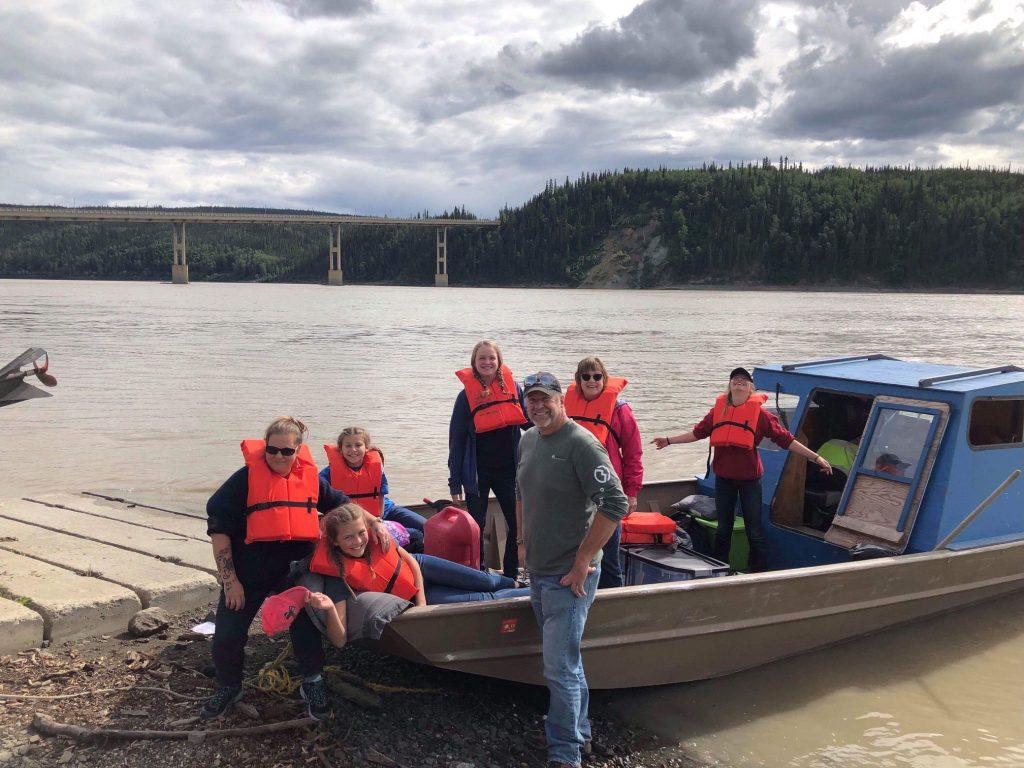 Boat ride in Alaska Mission Trip