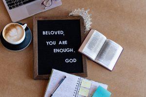 Beloved, you are enough. --God