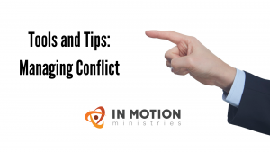 Managing Conflict Tools and Tips