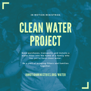 short term mission trips with clean water projects